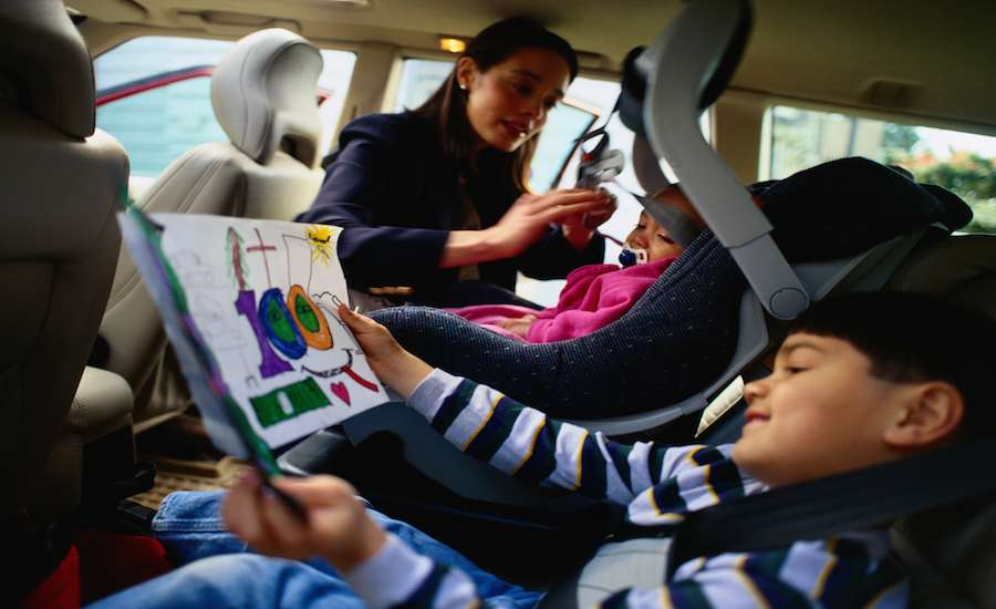 support military families by offering to carpool their kids
