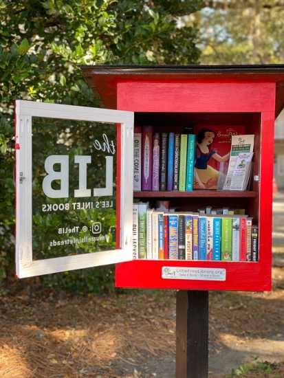 Little Free Library in Murrells Inlet