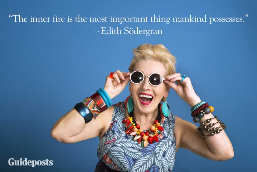 Edith Södergran creativity quote better living life advice finding life purpose