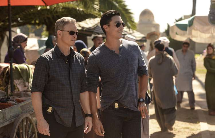 Guideposts: Gary Sinise in Criminal Minds: Beyond Borders