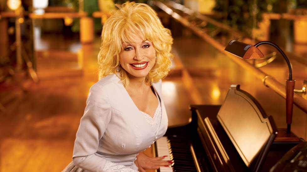 Dolly Parton as she appeared in the July 2004 Guideposts