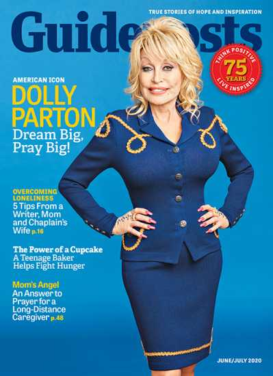 Dolly Parton on the cover of Guideposts magazine (Guideposts)
