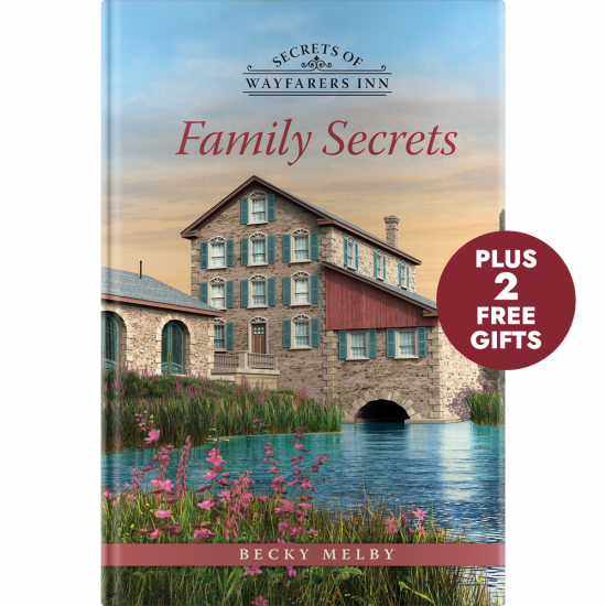 Family Secrets book cover (Guideposts)