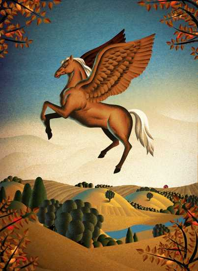 A more autumnal angel Pegasus