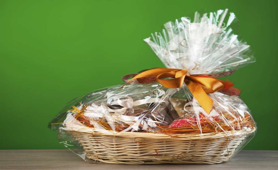 Support military families with a Gift basket
