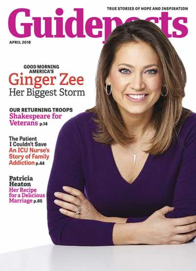 Ginger Zee on the cover of Guideposts magazine (Guideposts)