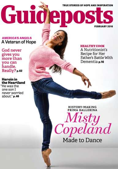 Misty Copeland Guideposts cover