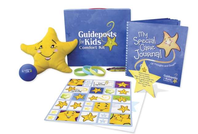 uideposts for Kids Comfort Kit: a small box with a huge impact -- packed with items designed to bring hope, spiritual reassurance, and smiles