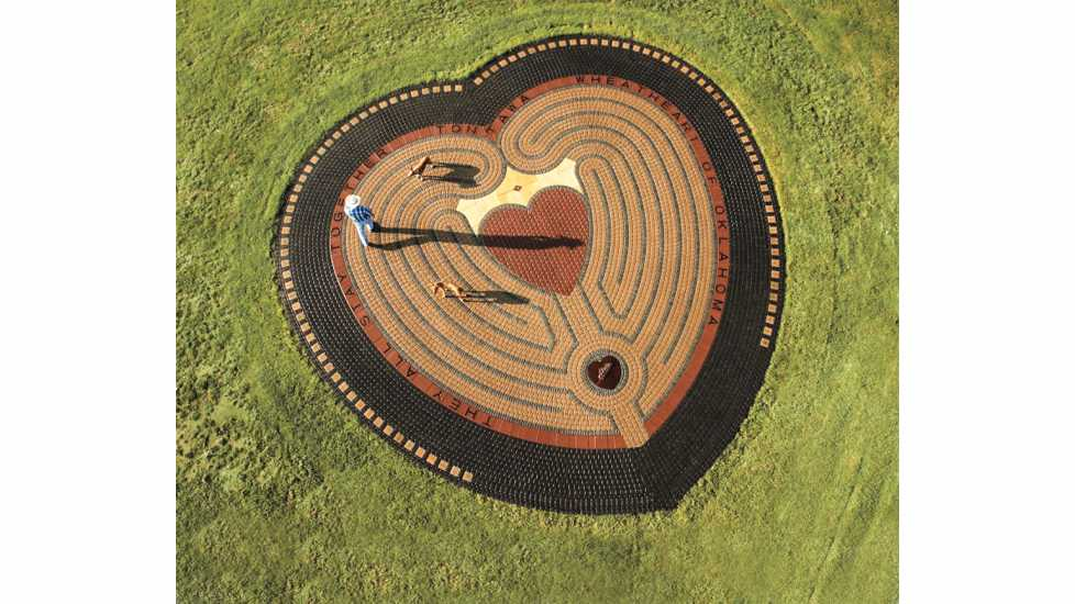 Heart in the Park Labyrinth; Photo Credit: Ken Crowder/TravelOK.com