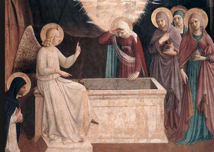 """Joanna was healed of evil spirits and infirmities by Jesus. She later supported Jesus nd his disciples in their travels. Joanna which means """"God is gracious"""" stayed with Jesus through the crucifixion and later was one of the three women who visited his tomb early on Easter morning and found it empty. Angels told the women that Jesus was not here because he was living, not dead."""