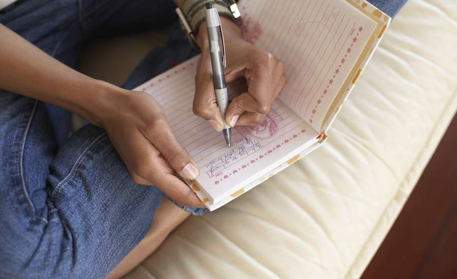 writing in a gratitude journal will help increase gratefulness