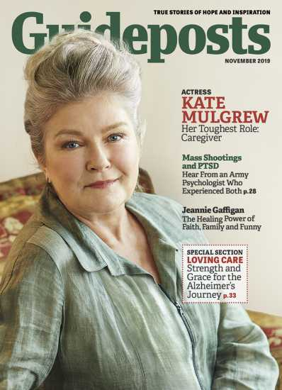 Kate Mulgrew on the cover of Guideposts magazine (Guideposts)