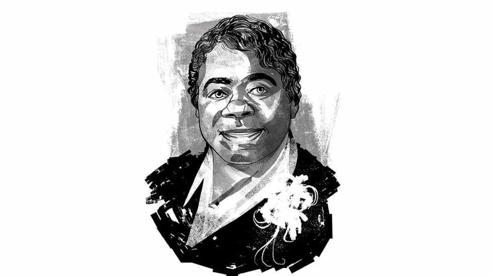 Mary McLeod Bethune; Illustration by John Jay Cabuay