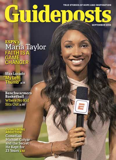 Maria Taylor on the cover of Guideposts magazine (Guideposts)