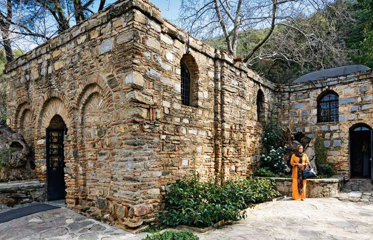 Mary's House, just outside Ephesus, Turkey