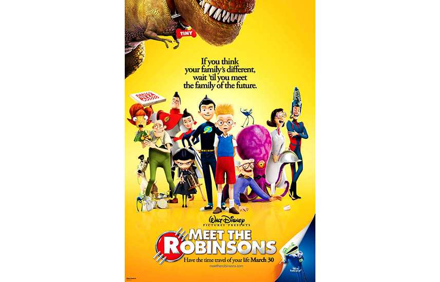 Film poster for Meet the Robinsons (2007)