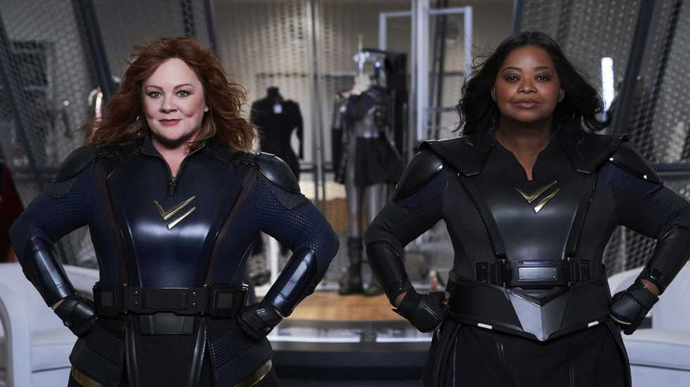 Melissa McCarthy and Octavia Spencer in Thunder Force (Netflix)