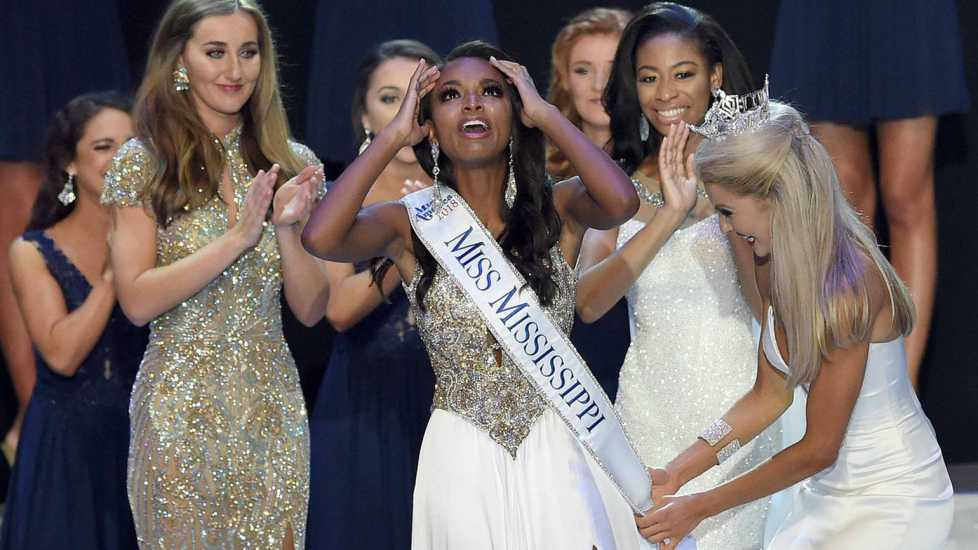 Asya is named Miss Mississippi on June 23, 2018, in Vicksburg, Mississippi