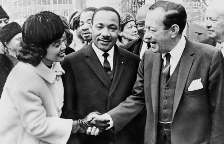 Guideposts: New York's Mayor Robert Wagner greets Dr. & Mrs. Martin Luther King, Jr. at City Hall