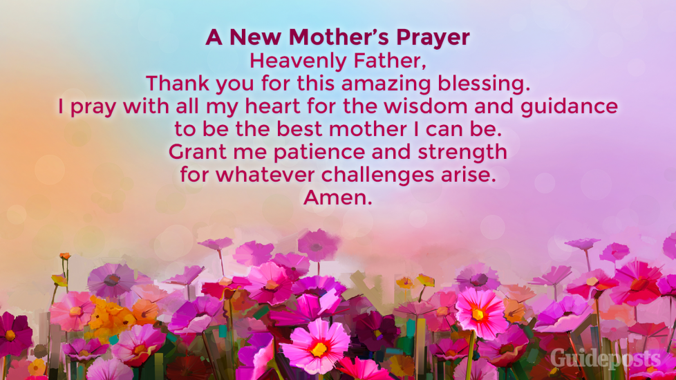 Celebrate motherhood with these 9 prayers and blessings.