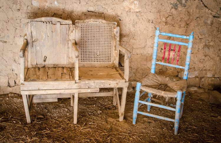 South Africa throws old furniture for New Year's