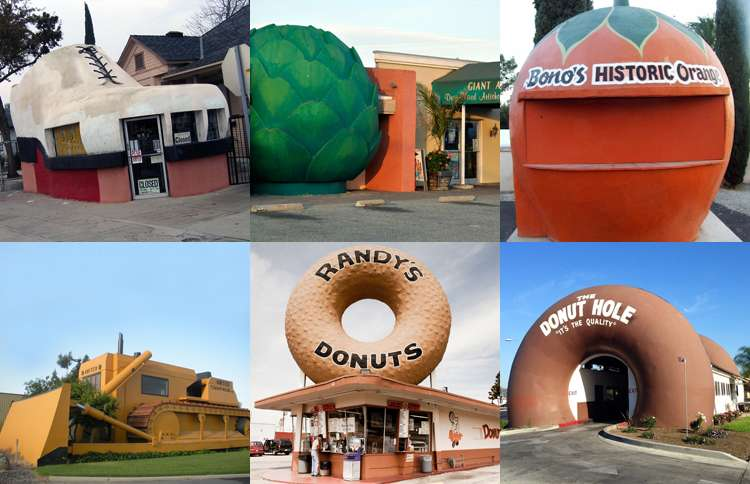 Guideposts: Examples of novelty architecture in California