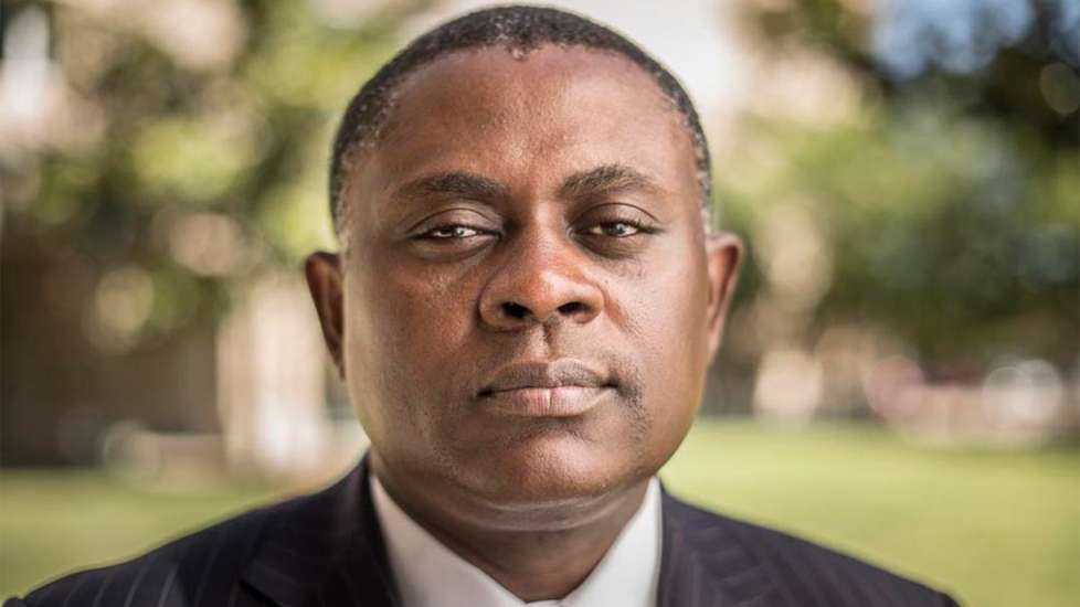 Dr. Bennet Omalu at San Joaquin General Hospital in French Camp, California