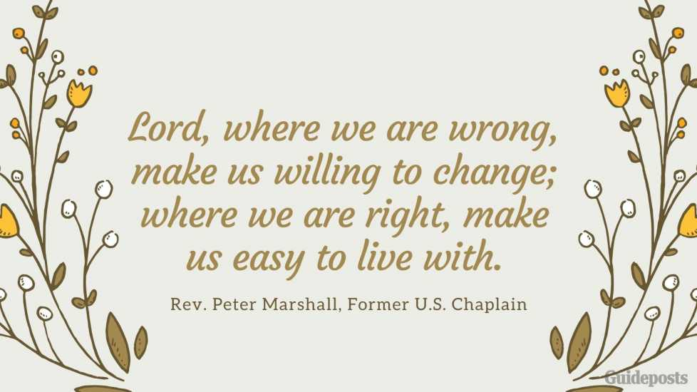 Inspirational Peter Marshall Quote Embracing Change Better Living Life Advice Managing Life Changes