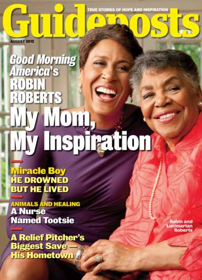 Robin Roberts on the cover of Guideposts magazine (Guideposts)