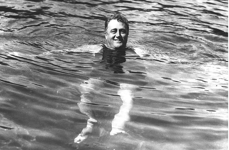 FDR at Warm Springs 1928