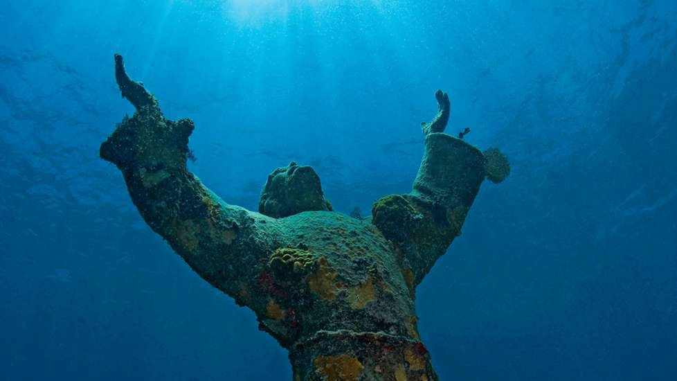 Guido Galletti's Christ of the Abyss
