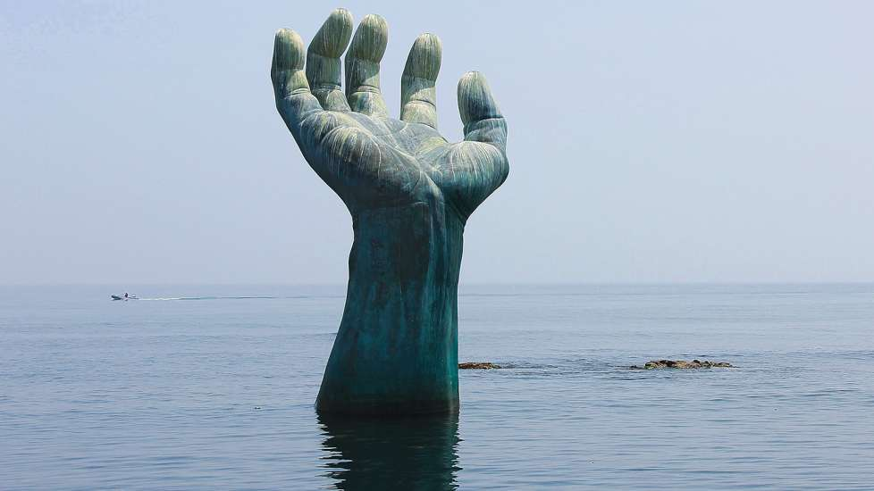 The Hands of Harmony, near Homigot, South Korea