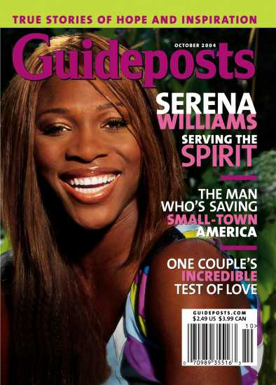 Serena Williams on the cover of Guideposts magazine (Guideposts)