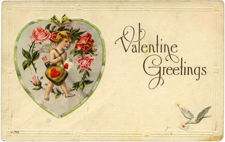 Guideposts: A platonic Valentine's Day postcard