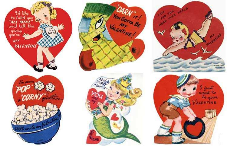 Guideposts: A collection of vintage Valentine cards for kids