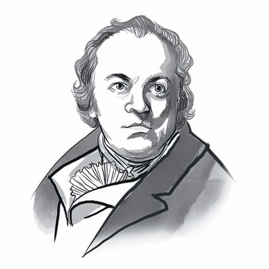 William Blake; ILLUSTRATION BY JOHN JAY CABUAY