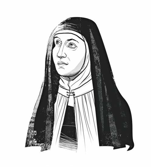 TERESA OF ÁVILA; ILLUSTRATION BY JOHN JAY CABUAY