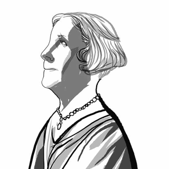 Evelyn Underhill; ILLUSTRATION BY JOHN JAY CABUAY