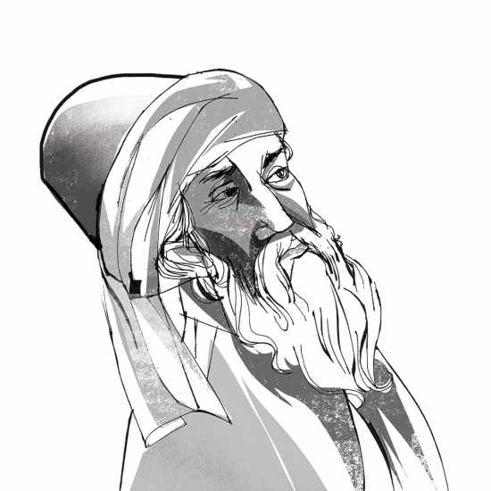 Rumi;  ILLUSTRATION BY JOHN JAY CABUAY