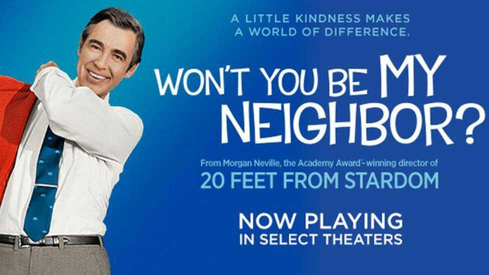 Promotional poster of 'Won't You Be My Neighbor'