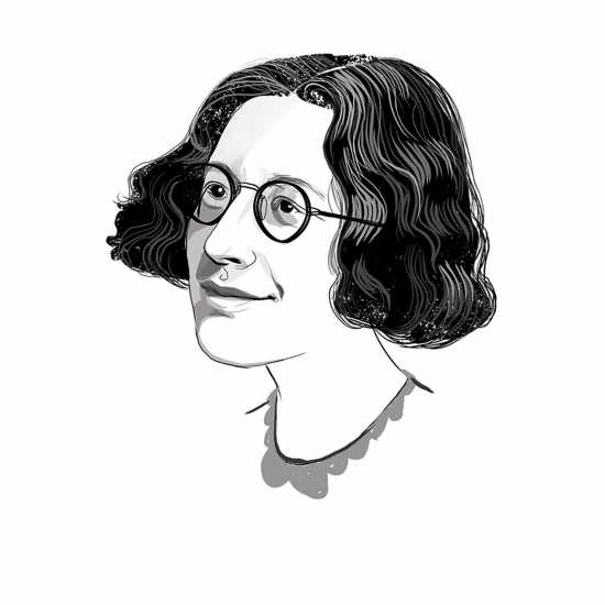 Simone Weil; ILLUSTRATION BY JOHN JAY CABUAY