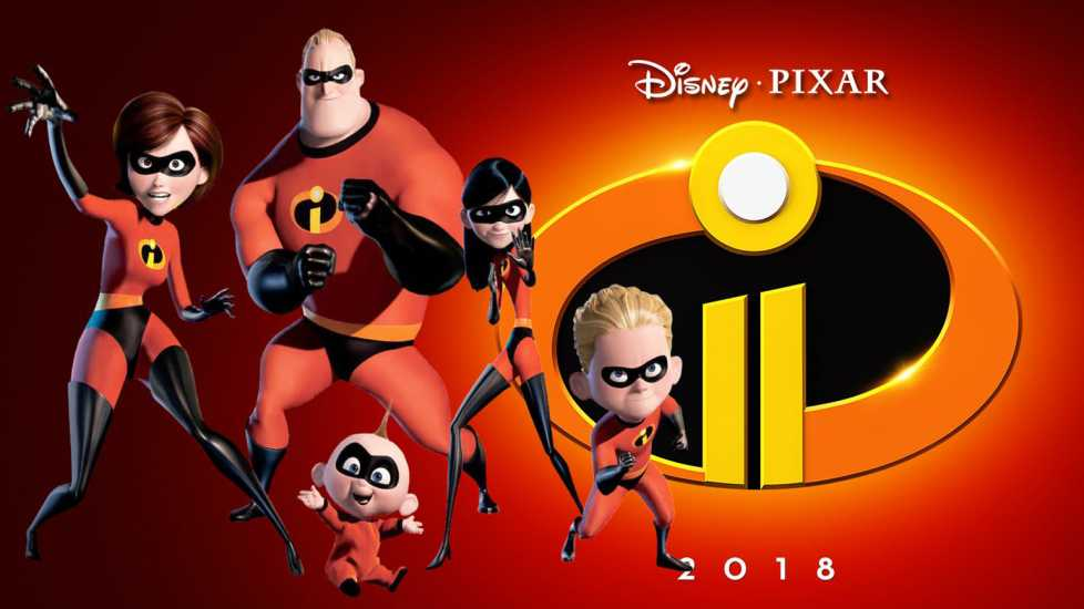Promotional poster of 'The Incredibles 2'