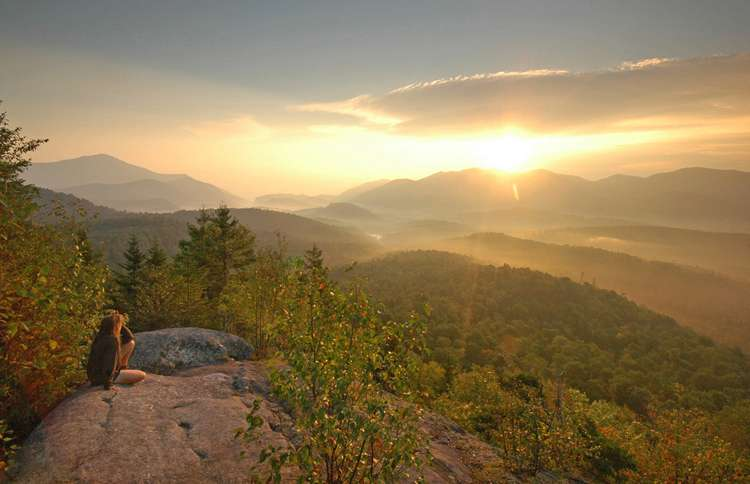 Sunrise in the Adirondacks