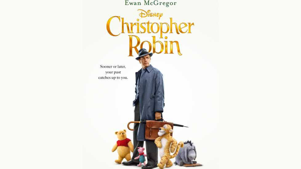 Promotional poster of 'Christopher Robin'