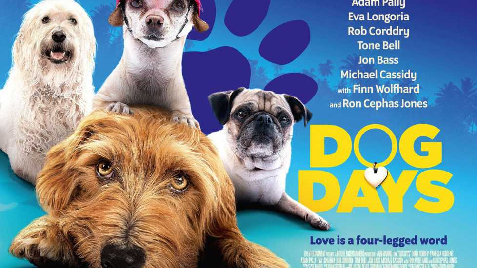 Promotional poster for 'Dog Days'