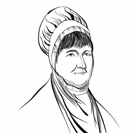 Elizabeth Fry; ILLUSTRATION BY JOHN JAY CABUAY