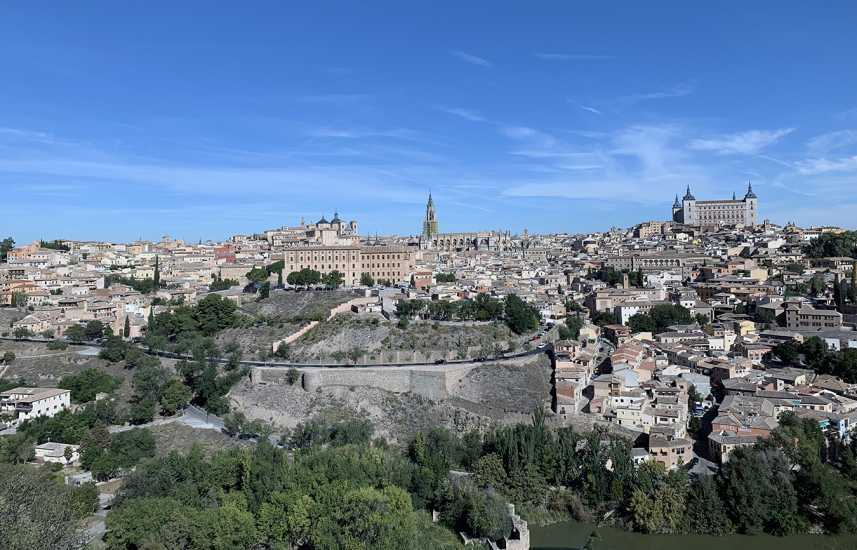 The ancient city of Toledo in Spain