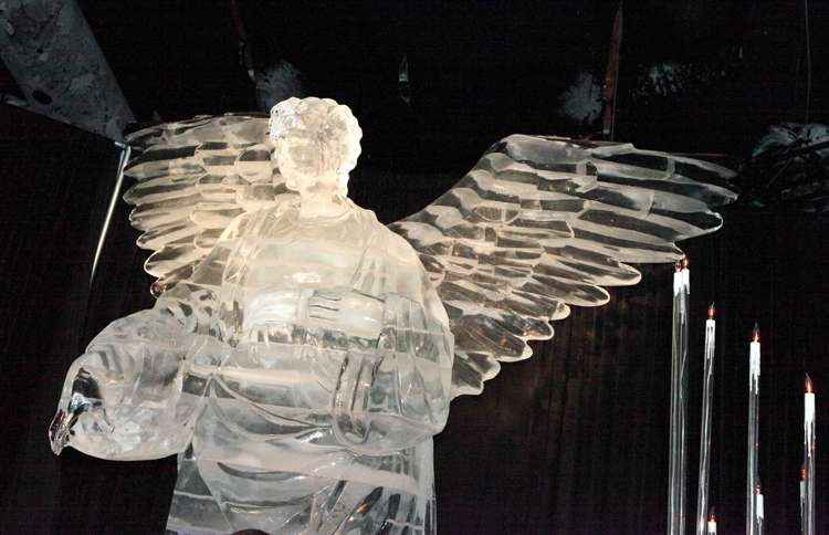 Guideposts: Frozen Angel, Gaylord Palms, Kissimmee, Florida