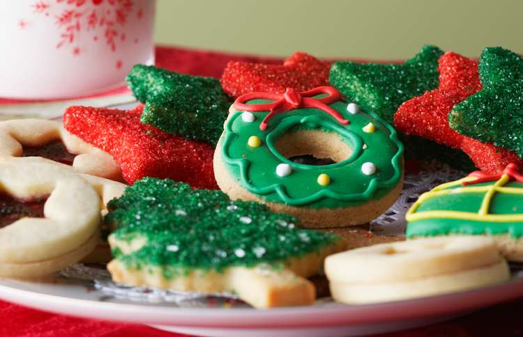 Guideposts: A plate of homemade Christmas cookies
