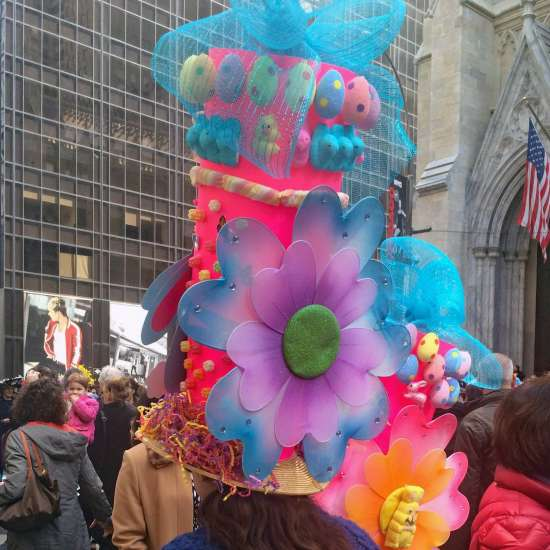 The Easter Parade on New York City's Fifth Avenue